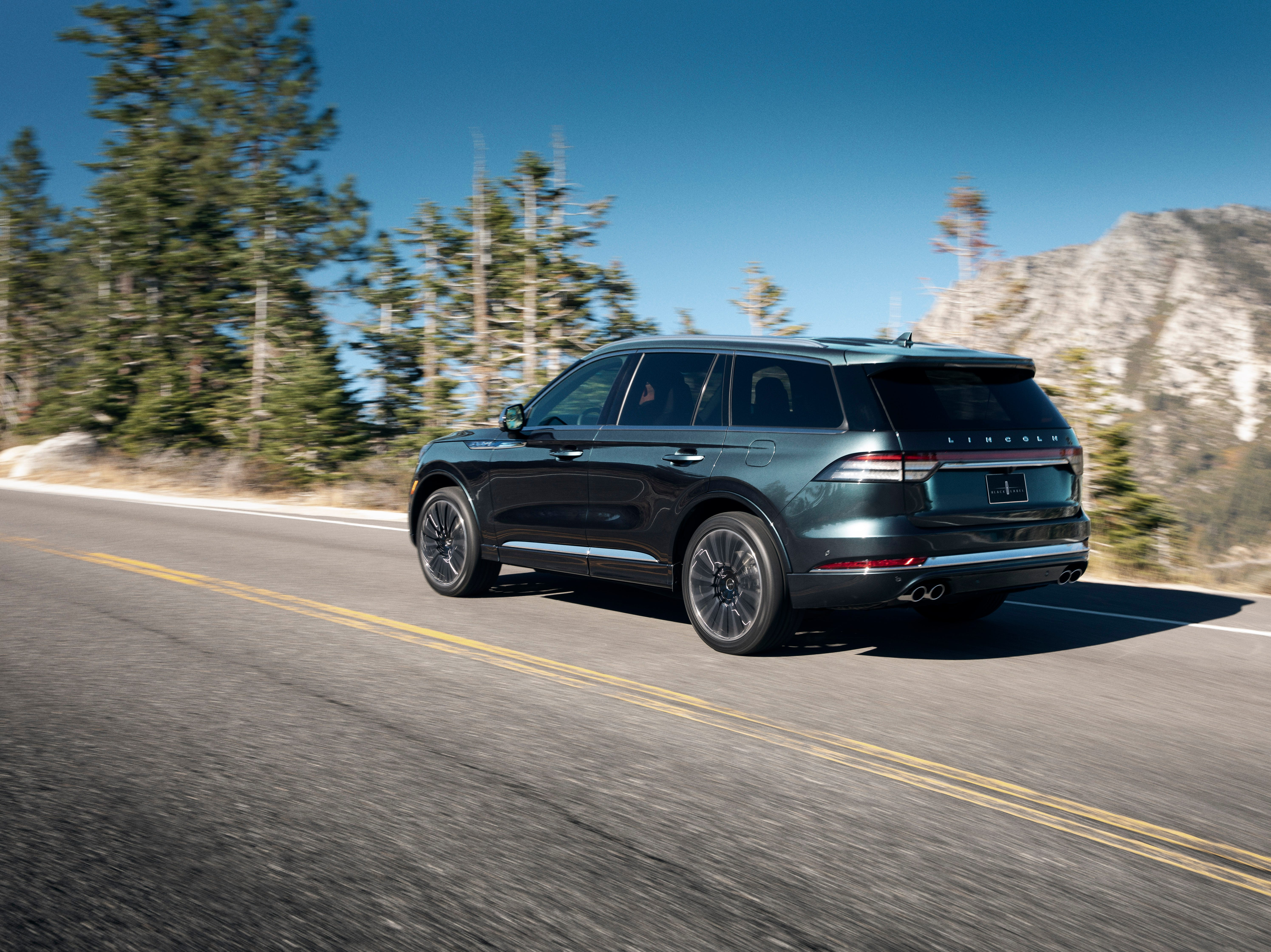 The all-new 2020 Lincoln Aviator boasts advanced technologies that let the luxury SUV kneel to greet you, scan the road ahead for uneven pavement, and allow you to drive away using your smartphone instead of a key.