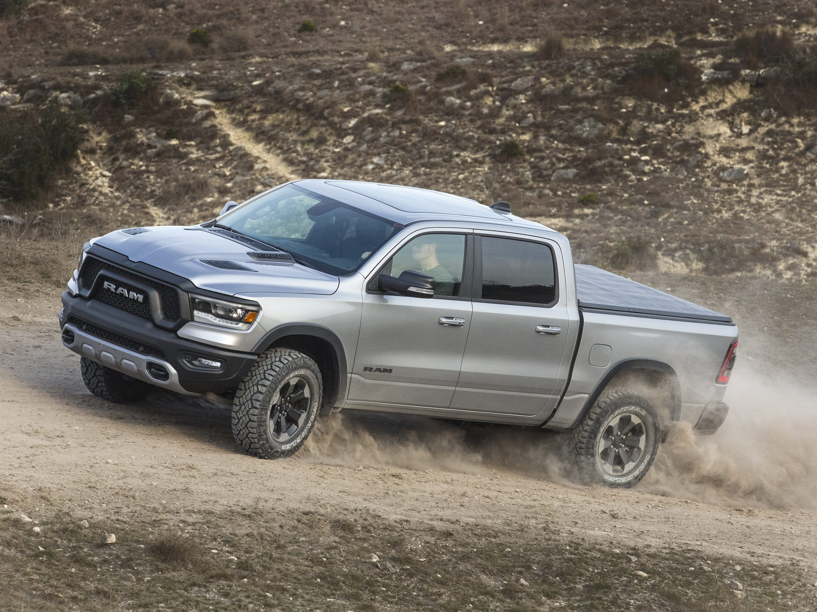 Truck of the Year: The 2019 Ram 1500, seen in the Rebel trim model.