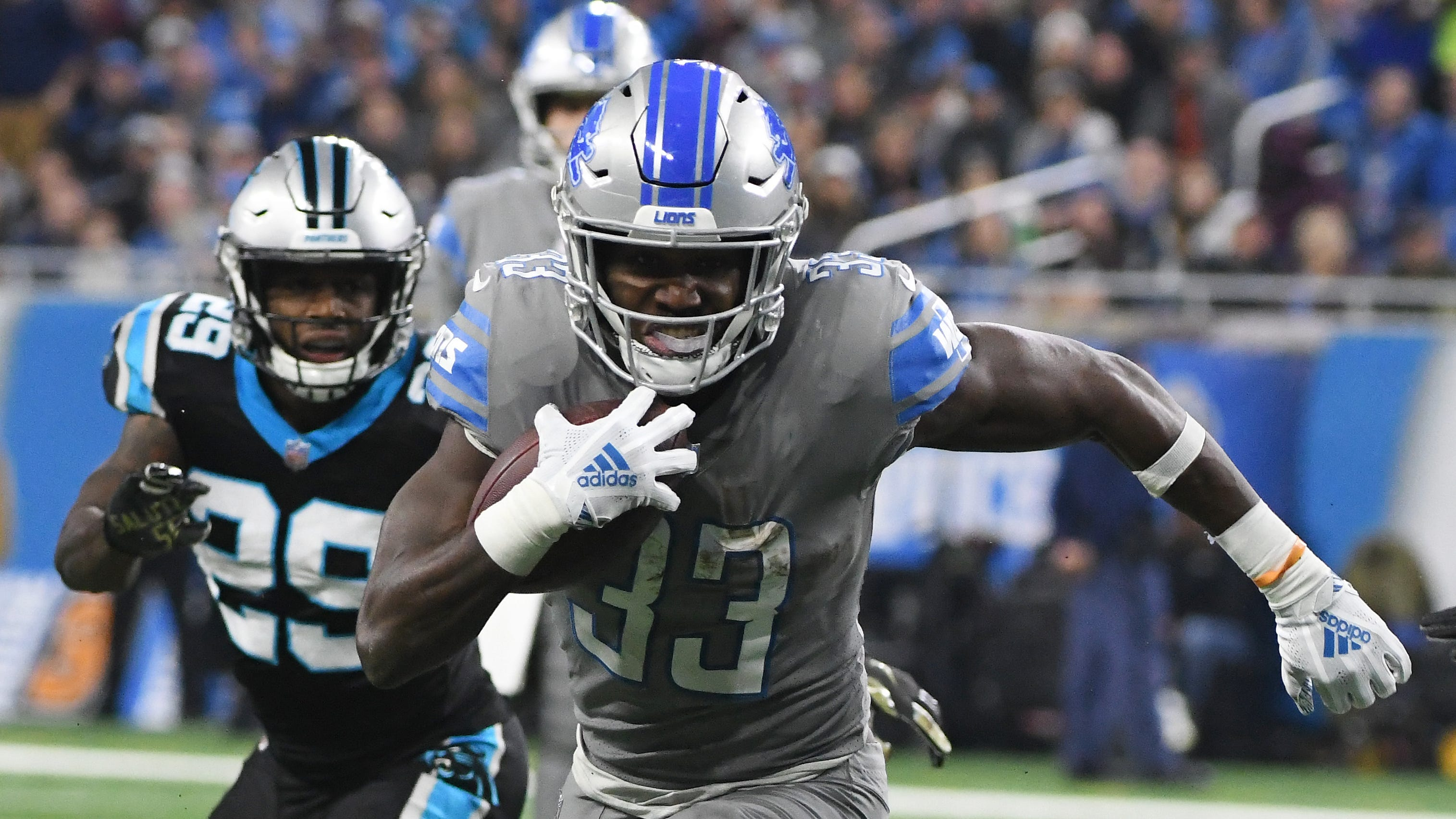 Kerryon Johnson Injury >> Kerryon Johnson still not practicing for Detroit Lions