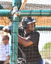 Tigers outfield prospect Daz Cameron ranked eighth in the Arizona Fall League with a .342 average.