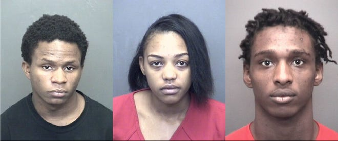 Donavan Young, Alicia Sivils and Eric Ogburn are all accused in a home invasion robbery on Evansville's Southeast Side.