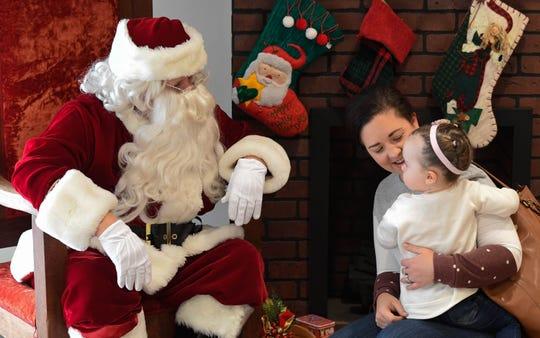 Bring the kids to meet Santa.