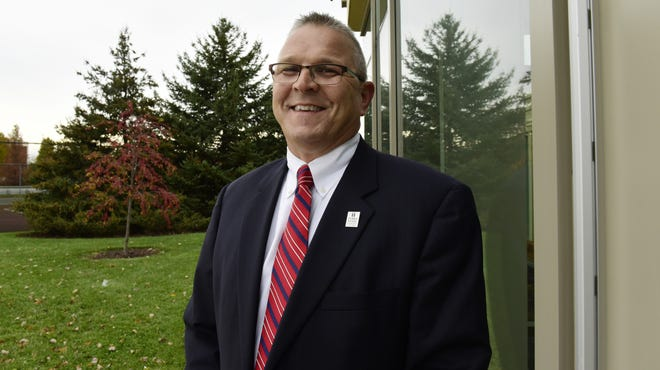 Ron Schumacher, new president of Terra State Community College, and the college's board of trustees agreed Wednesday on a three-year contract.