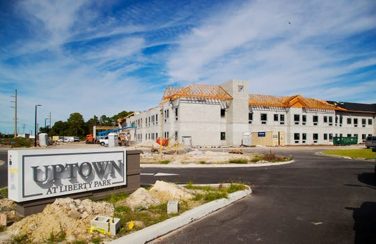 Uptown At Liberty Park is one of several new apartment developments along Pine Island Road in Cape Coral.