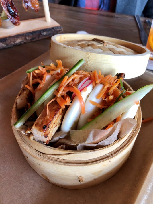 Backyard Beer Garden bao buns