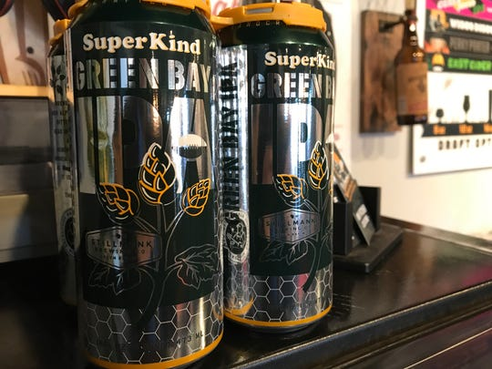 Stillmank Brewing Co.'s SuperKind Green Bay IPA is available in cans again. Stillmank is joining seven other local breweries to brew an IPA to raise funds for Camp Fire relief.