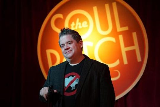 Comic Patton Oswalt plays the Peace Center March 30.