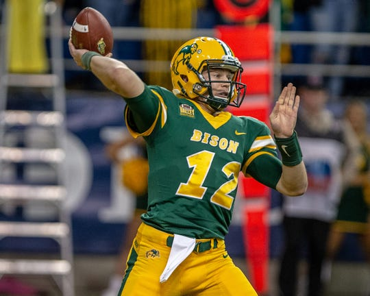 North Dakota State star quarterback Easton Stick is a four-year starter who owns several school records.