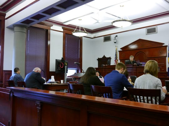 The trial of Robert Mathew Holguin Jr. concluded Wednesday, November 28, 2018.