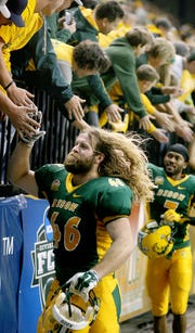 North Dakota State fans pack the Fargodome with more than 18,000 enthusiastic fans at each home game in Fargo, N.D.