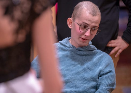 Tyler Trent Purdue Superfan Given Sagamore Of The Wabash