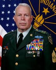 Indiana Department of Veterans' Affairs Director James Brown