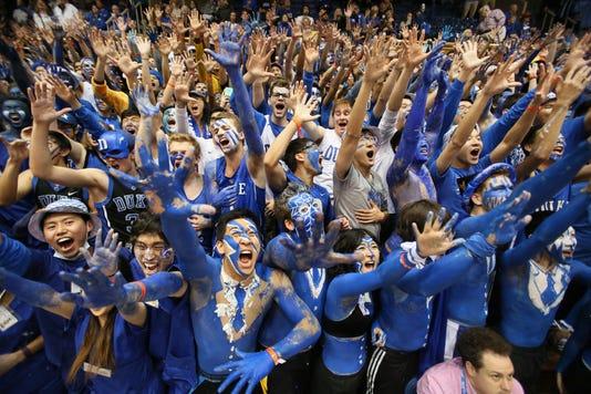 Ncaa Basketball North Carolina At Duke