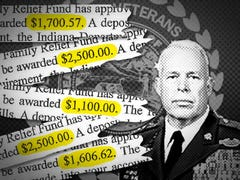 Did veterans office staffers benefit from fund?