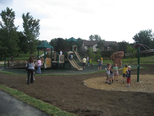 Freedom Trail Park's all-inclusive playground is at 500 Deer Walk Trace in Westfield.