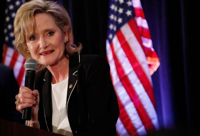 Republican U.S. Sen. Cindy Hyde-Smith, pictured in 2018, is seeking her first full term in Congress.