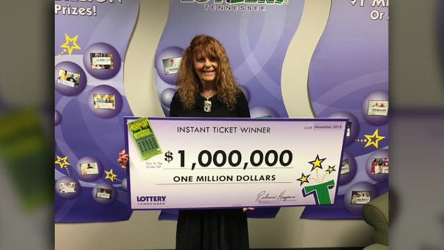 Patricia Cole, of Maryville, just won $1 million in the Tennessee Lottery's Millionaire Jumbo Bucks instant win game. Cole is a retired nurse. She bought her winning ticket at Smokers Discount on Broadway Avenue in Maryville.