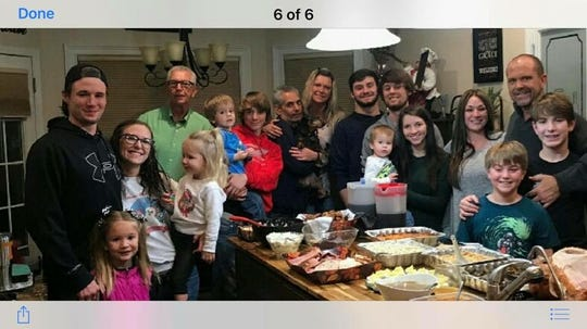 It's a special time when Travis and Mitzi Fuller can get their entire family together.