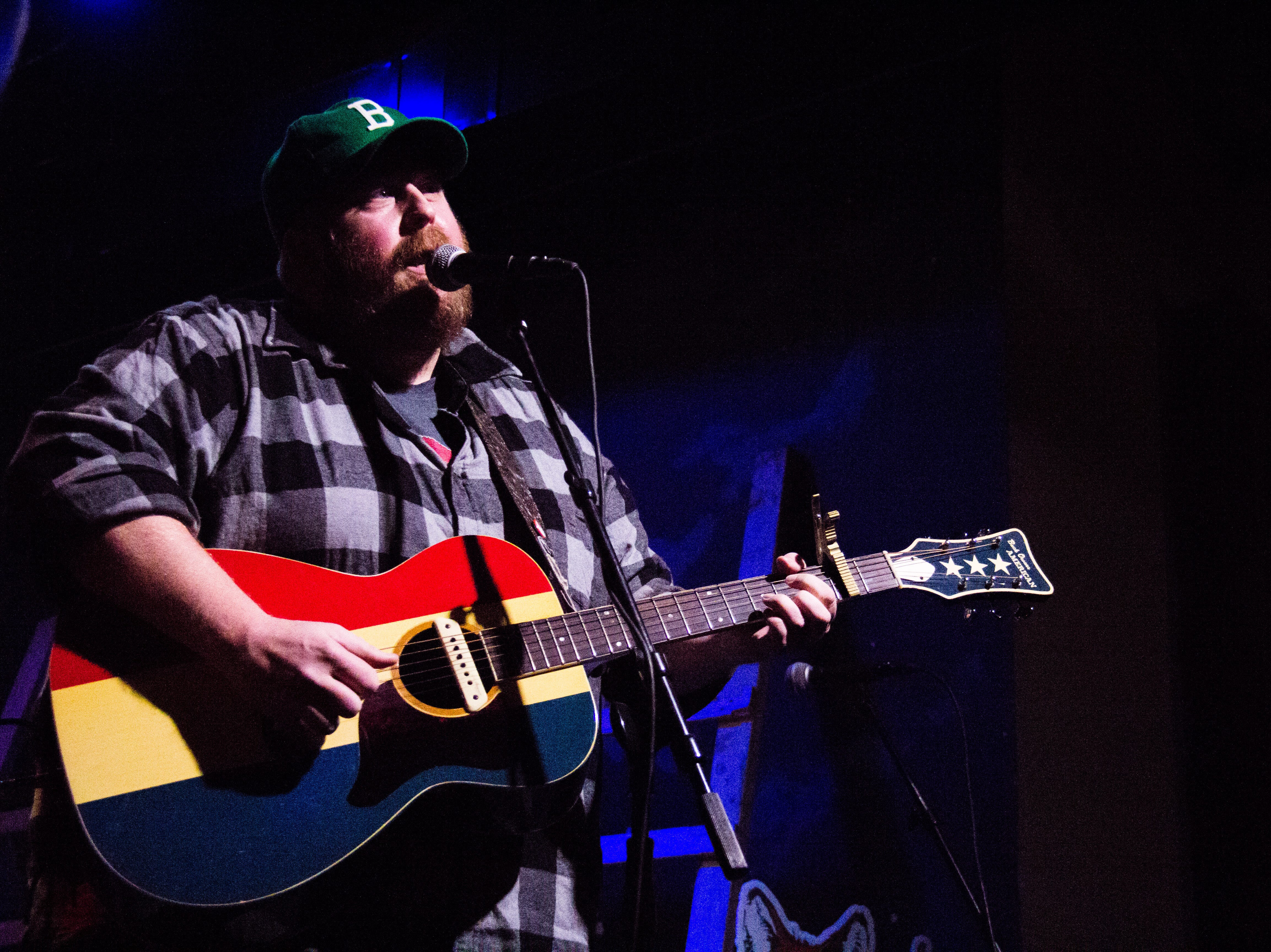 Brian Paddock performs at Barley's in Knoxville during a Rhythm N' Blooms headliner reveal party Nov. 27, 2018.