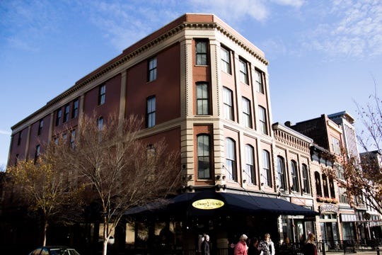 The corner building at 36 Market Square recently was reacquired by Scott and Bernadette West, who lost it when they went to prison in 2006.