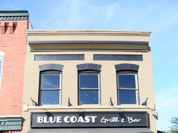 Blue Coast Grill and Bar, 37 Market Square.