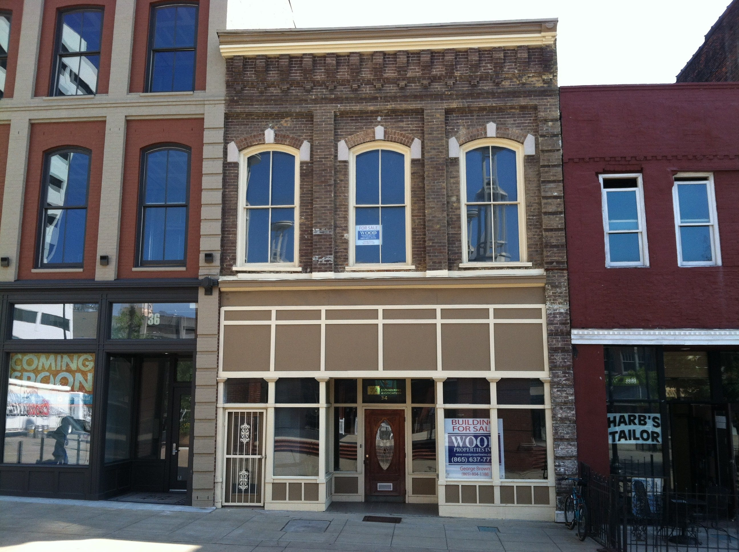 A building at 34 Market Square is pictured in 2012. The building was sold on Oct. 1, 2012, for $400,000.