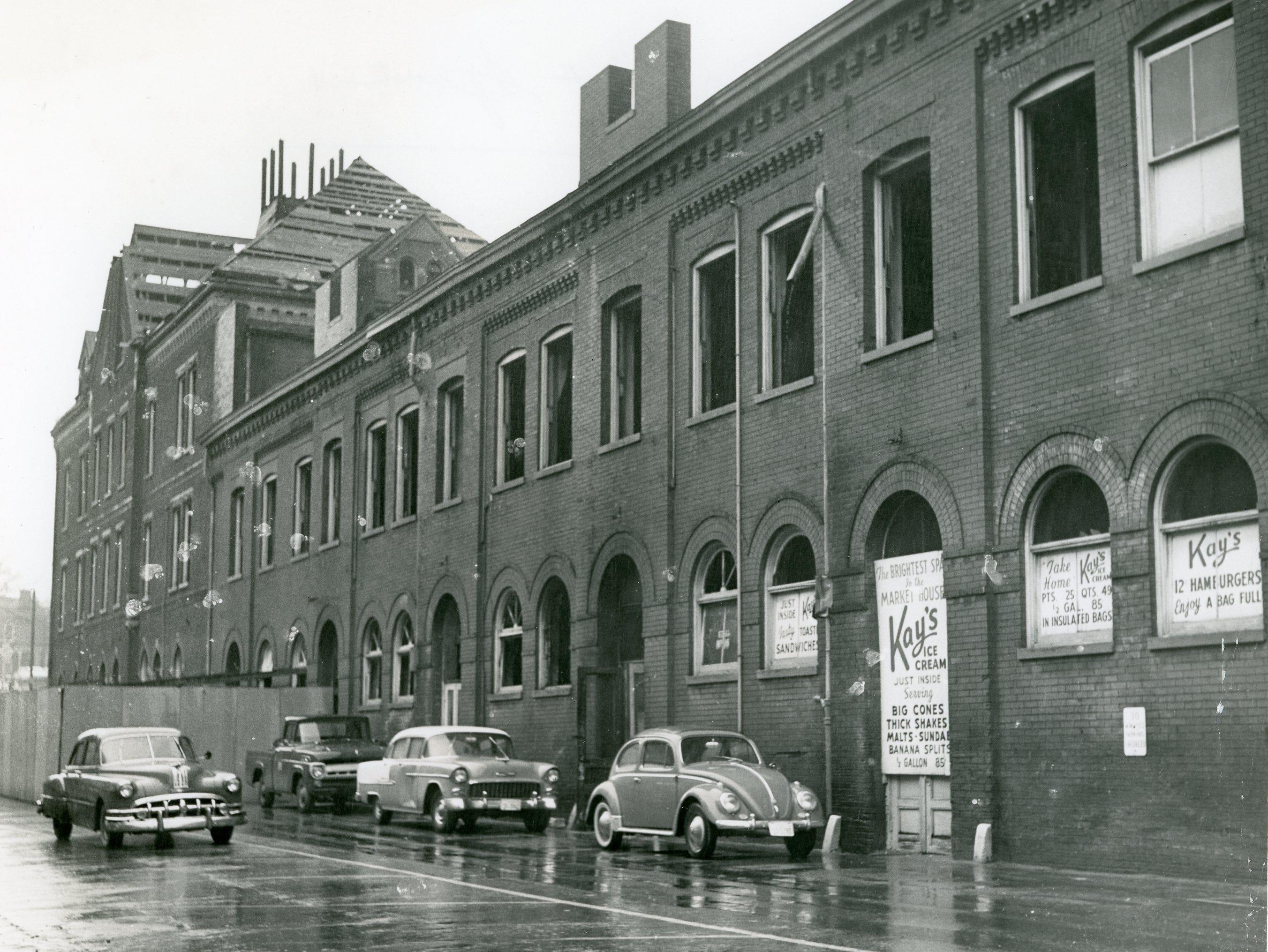 Market Square, April, 1960.
