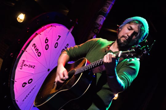Cruz Contreras of The Black Lillies performs at Barley's in Knoxville during a Rhythm N' Blooms headliner reveal party Nov. 27, 2018. The Black Lillies will perform Friday.