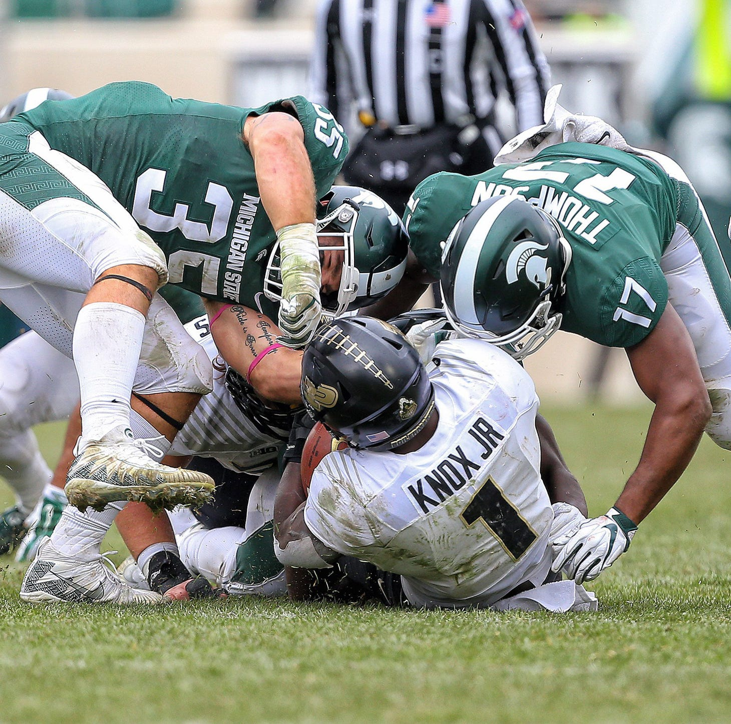Michigan State football's Joe Bachie remains anchor for linebackers, defense