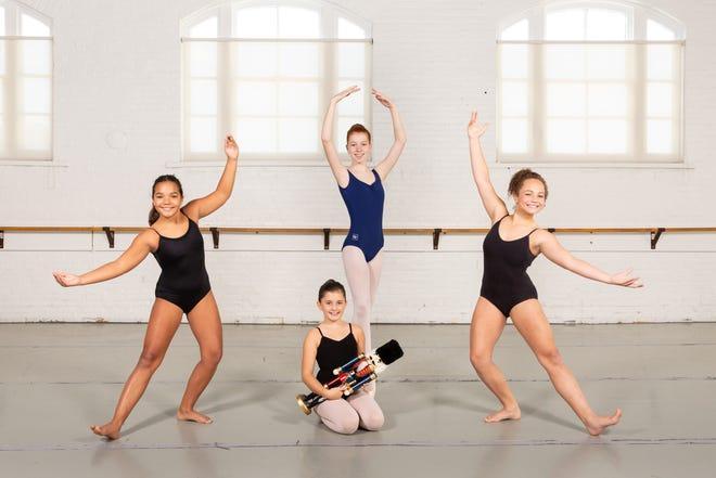 First row (L-R): Peri Lichtenstiger. Second row (L-R): Leiana Rice, Miranda Sharer and Makayla Rice