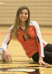 Brighton's Celia Cullen is the only Livingston County volleyball player to make first-team all-state this season.
