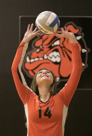 Brighton's Celia Cullen is Livingston County's volleyball Player of the Year after leading the team in setting and kills.