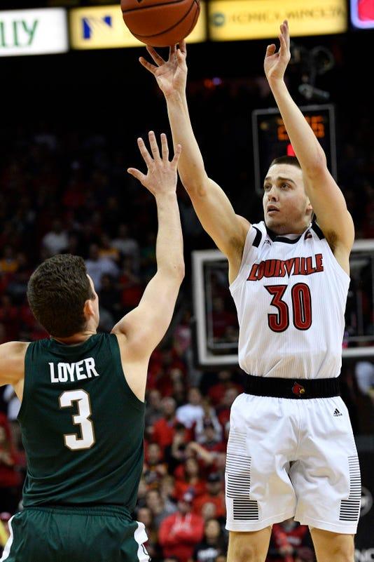 Ncaa Basketball Michigan State At Louisville