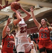 Crestview's Kenedi Goon was named first team All-Firelands Conference in 2018-19.
