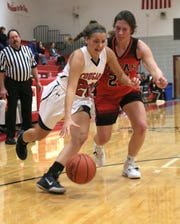 Crestview's Mary Leeper had a huge night in a victory over Plymouth on Tuesday night.