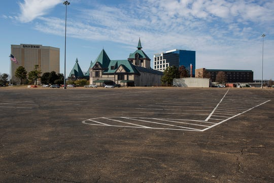 November 28 2018 - A mostly empty parking lot surrounds the Tunica Roadhouse Casino around lunchtime on Wednesday. Caesars Entertainment Corporation announced Tuesday it will cease gaming operations at Tunica Roadhouse Casino, effective January 31, 2019, according to a press release.