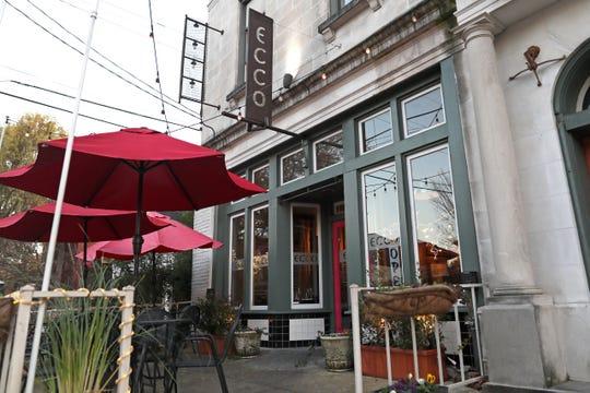 Ecco Restaurant in Midtown's Evergreen Historic District.