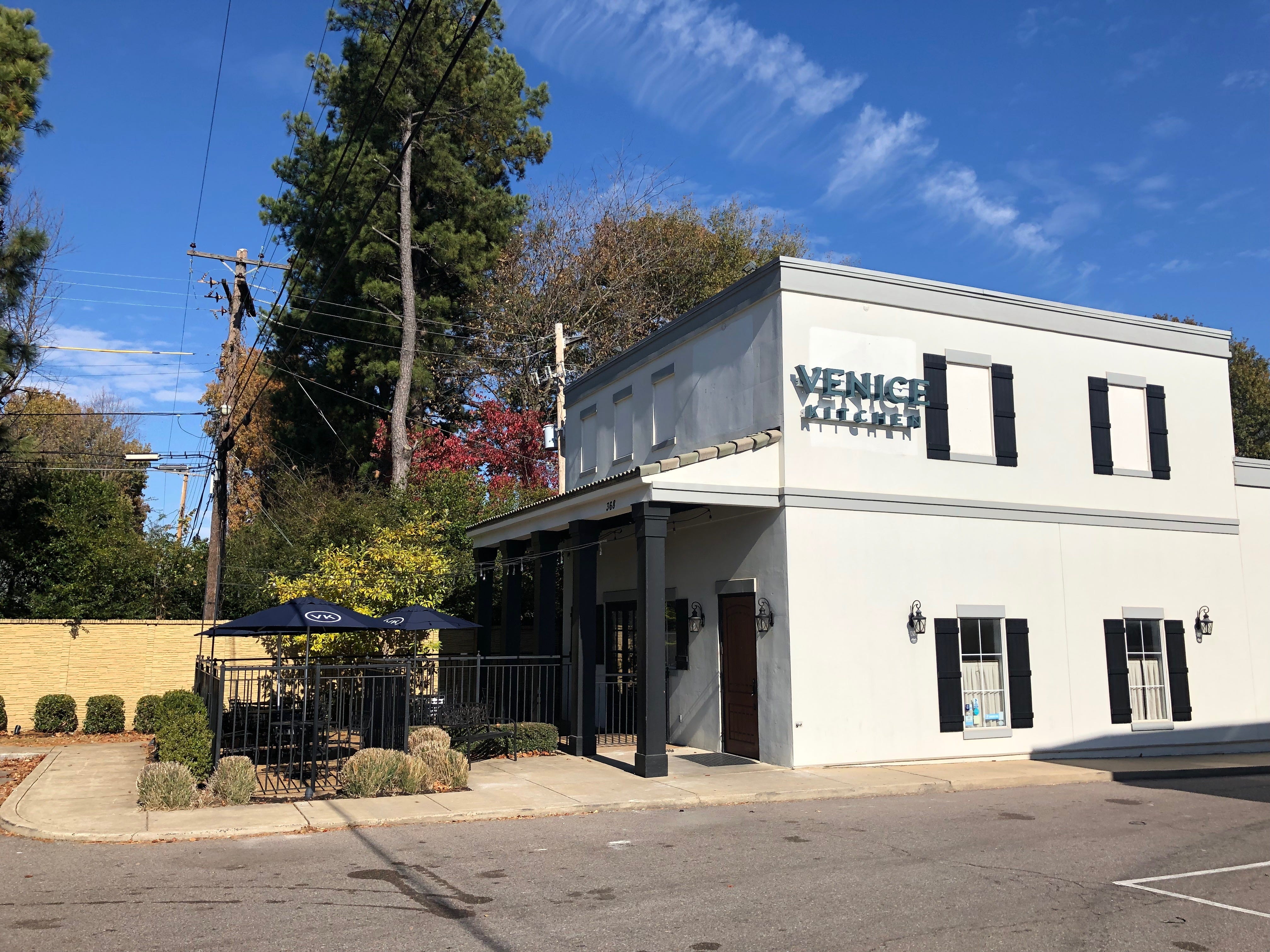 The new Venice Kitchen in East Memphis. The Old Venice Pizza Company has just undergone a re-branding and an extensive renovation, inside and out.