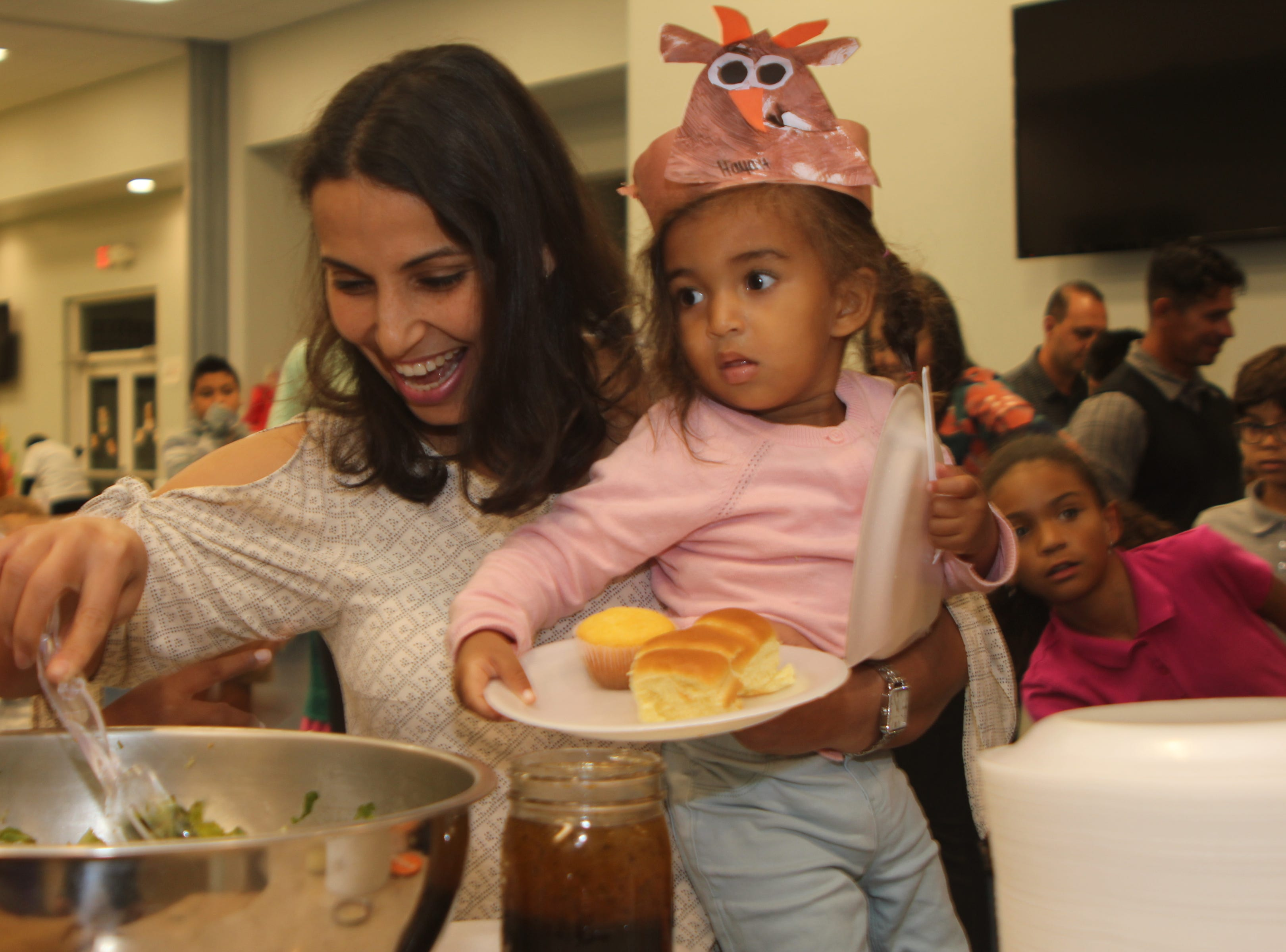 Dinner with a difference: Marco Y students treat parents to super soup and salads