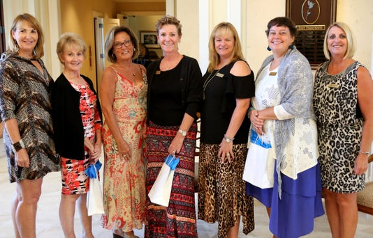 Newcomers Welcomed 5 New Members At The Nov Luncheon