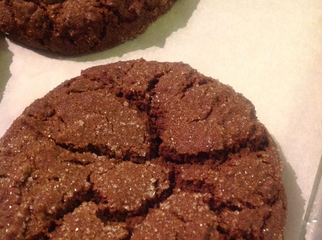 Ginger molasses cookies are a popular choice at Amaranth Bakery in Milwaukee.