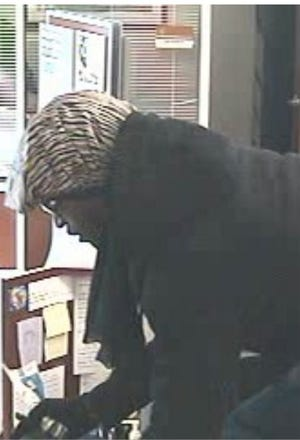 This man is the suspect in the Nov. 27 armed robbery of the Associated Bank in South Milwaukee.