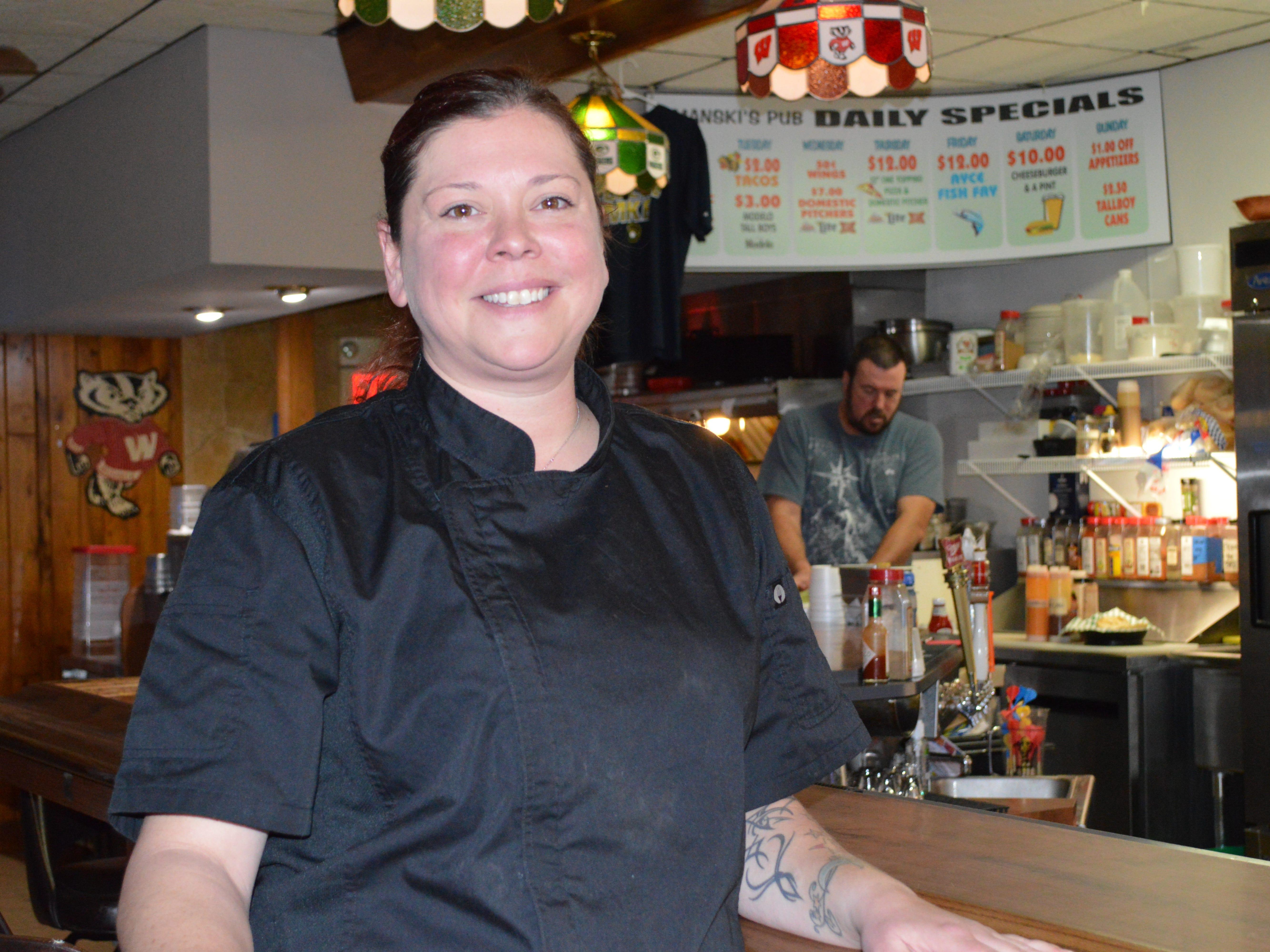 Chef Kat Limanski opened Limanski's Pub in West Allis in September 2017.