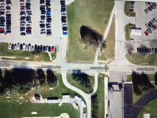 Arrowhead Drive Crosswalk