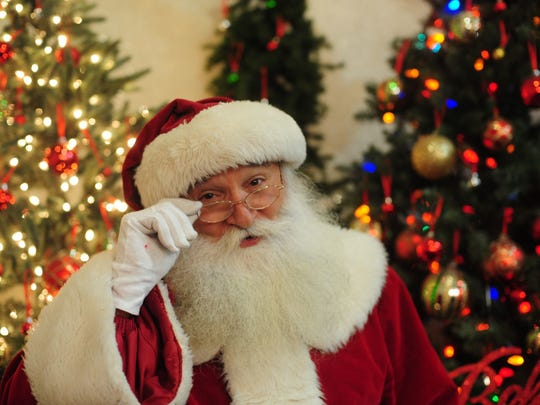 Besides lighting the tree, Santa Claus will greet youngsters of all ages at these community events.