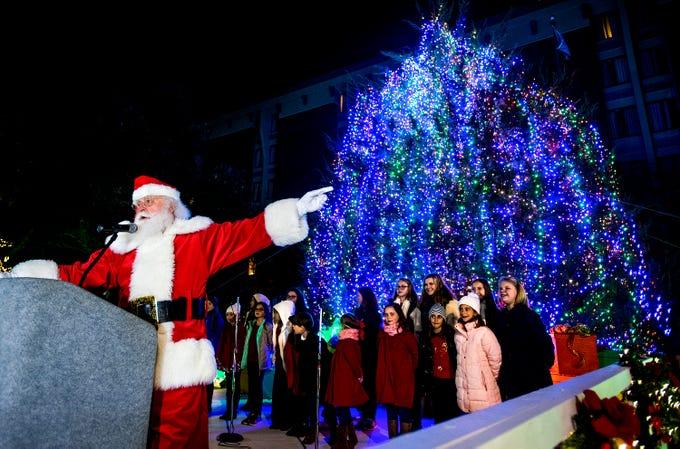 - City Of Montgomery Christmas Tree Lighting