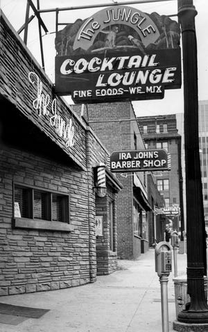 The Jungle, one of Commerce Street's better-known bars, is shown here Oct. 12, 1954. On Friday,the MetroHistorical Commission will unveil a plaque recognizing it and Juanita's as Nashville's first gay bars.