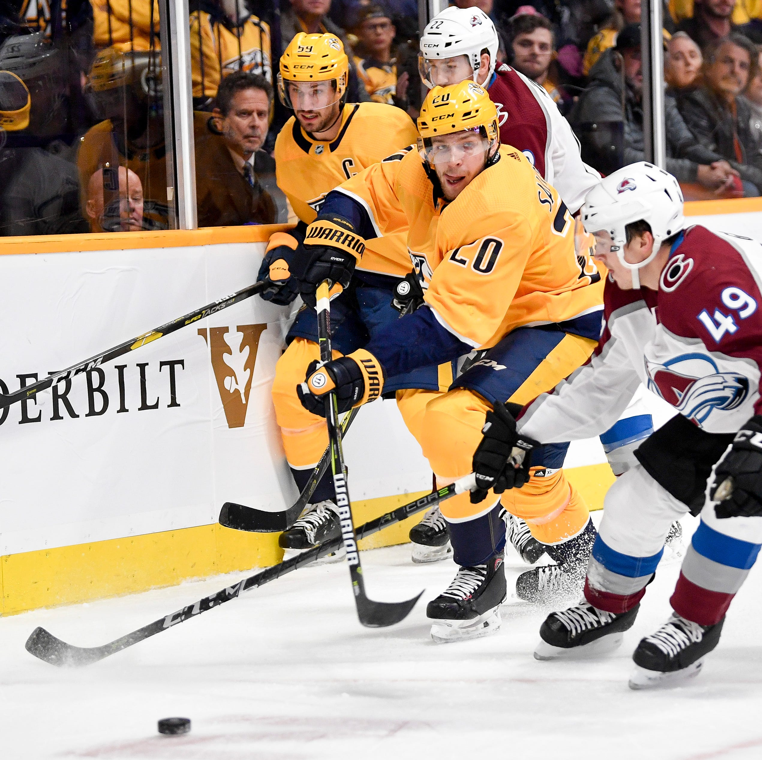 Why Predators forward Miikka Salomaki is willing to pay painful price to play in NHL