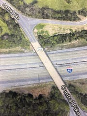 A new interchange on Interstate 40 at Central Pike in Mt. Juliet is being planned.
