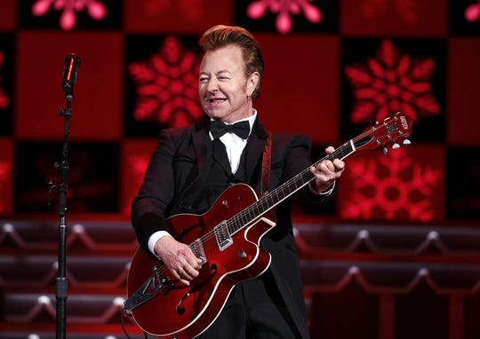 The Brian Setzer Orchestra will perform Dec. 2 at the Ryman Auditorium.